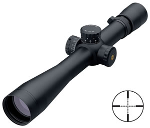 Leupold Mark 4 Long Range Tactical Rifle Scope 51850, 3.5x-10x, 40mm Obj, 30mm Tube Dia, Matte, Mil-Dot Reticle, w/$50 Coupon For Future Order