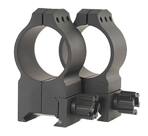 Warne Tactical Rings 616M, Tactical, Extra High, 30mm, Matte