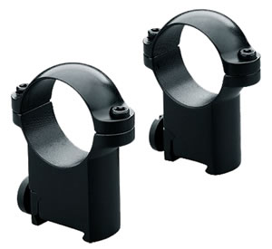 Leupold Sako Ring Mounts 49943, Sako, Super High, 1 in, Matte Black