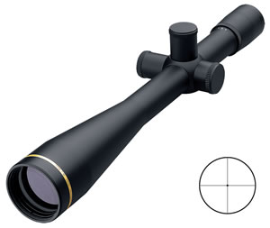 Leupold Competition TRT Rifle Scope 53436, 40x, 45mm Obj, 30mm Tube Dia, Matte, Target Dot Reticle, w/$25 Coupon For Future Order