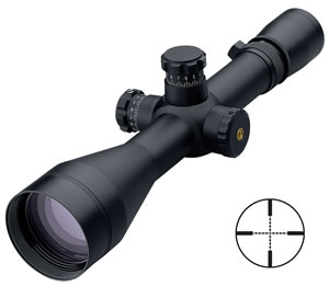 Leupold Mark 4 Long Range Tactical Rifle Scope 54560, 4.5x-14x, 50mm Obj, 30mm Tube Dia, Matte Black, Mil-Dot Reticle, w/$50 Coupon For Future Order