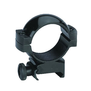 Traditions Aluminum Rings A781, Weaver Style Bases, High, 30mm, Matte Black