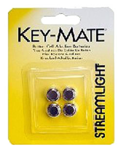 Streamlight 72030 Keymate 4-Pack Replacement Batteries
