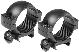 Barska 30MM Scope Rings AI10338, Medium, 30mm, Black Matte