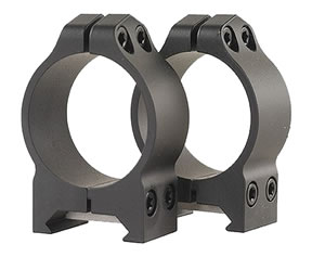 Warne Maxima Scope Rings 213M, Maxima/Magnum Permanent, Low, 30mm, Matte