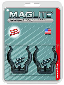 Mag Lite ASXD026 D-Cell Flashlight Mounting Bracket