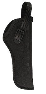 Uncle Mikes Hip Holster For 5 in -6.5 in Barrel Double Action Revolver, Right Hand, Black, Model 81031