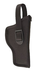 Uncle Mikes Hip Holster For 3 in -4 in Barrel Med Autos, Left Hand, Black, Model 81012