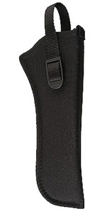 Uncle Mikes Hip Holster Fits 6.5 in -7.5 in Barrel Single Action Revolvers, Right Hand, Black, Model 81091