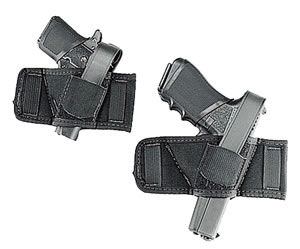 Uncle Mikes Side Bet Belt Slide Holster For Most Autos & Revolvers, Model 86900