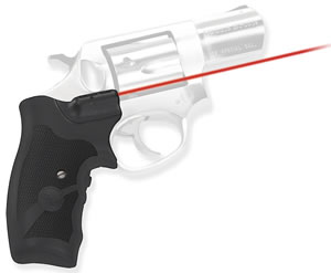 Crimson Trace LG303 Rubber Lasergrip For Ruger SP101