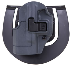 Blackhawk Sportster Left Hand Gray Holster For Glock 26/27/33, Model 413501BKL