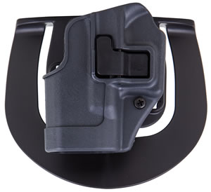 Blackhawk Sportster Right Hand Gray Holster For Glock 26/27/33, Model 413501BKR
