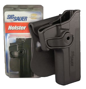 Sig Paddle Holster HOLRPR226BLK, Black, Fits P226 Rail Only