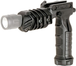 Command Arms Black Flashlight Grip Adaptor