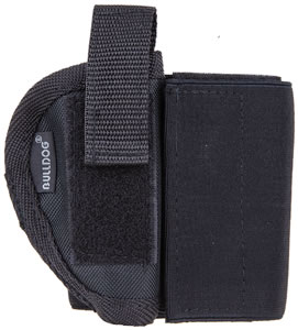 Bulldog Right Hand Ankle Holster WANK00R, Black, Elastic/Velcro, 00