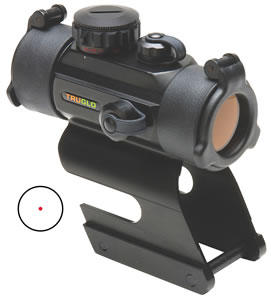 Truglo TG8030DBR Red Dot 30MM w/Integrated Remington Mount & Black Finish