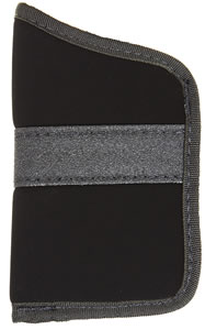Blackhawk  Inside The Pocket Holster 40PP02BK, Black, For Most .32-380 Cal