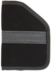 Blackhawk  Inside The Pocket Holster 40PP04BK, Black, For Most 9MM-.40 Cal Sub-Compact Semi-Auto