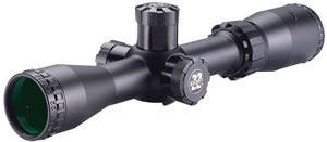 BSA Sweet 22 Rifle Scope S2227X32SP, 2x-7x, 32mm, Matte Black, Duplex Reticle, Side Focus