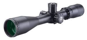 BSA Sweet 22 Rifle Scope S22618X40SP, 6x-18x, 40mm Obj, 1 in Tube Dia, Matte Black, Duplex Reticle, Side Focus