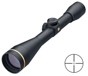 Leupold FX-3 Rifle Scope 66810, 6x, 42mm, Matte Black, Heavy Duplex Reticle