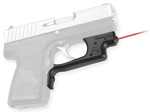Crimson Trace LG437 Lasergrip For Kahr P9/PM9/P40/PM40/CW9/CW40