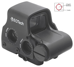 Eotech Holographic Weapon Sight XPS30, 1x, 65mm, Black, 1 MOA Dot, w/$10 Coupon For Future Order