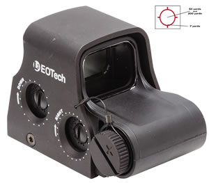 Eotech Holographic Weapon Sight XPS20, 65mm, Black, 1 MOA Dot