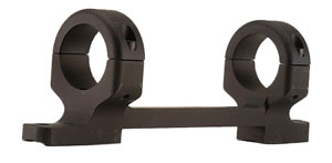 DNZ 20550 1 inch Medium Matte Black Base/Rings/Tikka T3