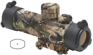 TruGlo Gobble Stopper Red Dot Scope TG8030GA, 1x, 30mm, Realtree APG HD, N/A