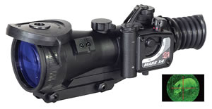 ATN NVWSMRS430 Mars Generation 3 Night Vision Scope, 4x, w/$100 Coupon For Future Order