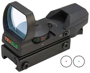 Truglo TG8360B Red Dot Sight w/Multi Reticle/Dual Color
