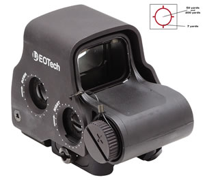 Eotech EXPS3-0 Holographic Weapon Sight, 65&1 MOA Black Night Vision, CR123, w/$10 Coupon For Future Order