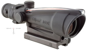 Trijicon ACOG Sight TA11H, 3.5x, 35mm Obj, Matte Black, AR15/16, Red, w/$50 Coupon For Future Order