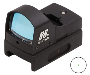 NCStar DGAB Compact Tactical Green Dot Reflex Sight