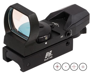 NCStar D4RGB Dual Illuminated Multi-Reticle System