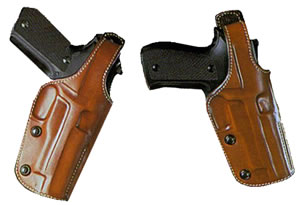 Galco PHX126 Phoenix Dual Position Belt Holster For S&W N Frame Revolver w/4 in Barrel