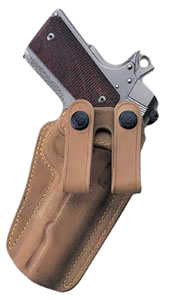 "Galco RG218, Royal Guard 218 3.5"" 1911 Colt/Para/Spring Inside-The-Pants Holster, Belts up to 1.75"", Natural Horsehide/Leather Textured"