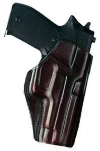 Galco CCP218H Havana Brown Concealed Carry Paddle Holster, For Colt 3 1/2 in; PAR-ORD 3 1/2 in; SPRGFLD 3 1/2 in