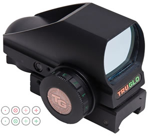 Truglo TG8380BN Tru-Brite Open Red Dot Sight
