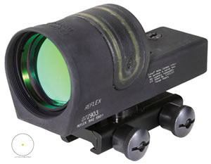 Trijicon RX34A51 Reflex Sight With TA51 Mount, 4.5 MOA, w/$10 Coupon For Future Order