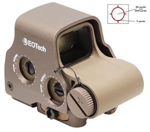 EOTECH EXPS30TAN Holographic Weapon Sight, Tan, w/$10 Coupon For Future Order
