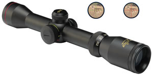 Excalibur Shadow Zone Rifle Scope 1961, 2-4x, 40mm Obj, Black