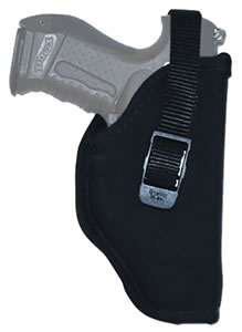 Grovtec GTHL14704R Hip Holster Right Hand, 04, Black, 7 in -8.5 in Barrel Med/Large Double Action Revolver