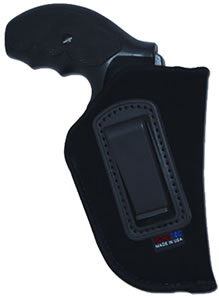 Grovtec GTHL14136R ISP Holster Right Hand, 36, Black, 2 in Barrel Small Frame 5-Shot Revolver