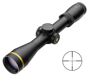 Leupold VX-6 Rifle Scope 111980, 2-12X, 42mm Obj, 30mm Tube Dia, Mt Black, 1/4 M.O.A. Dot Reticle, w/$25 Coupon For Future Order