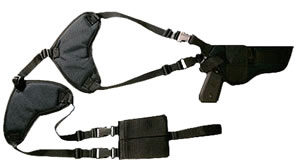 Bulldog WSHD31 Deluxe Large Pistol Shoulder Harness