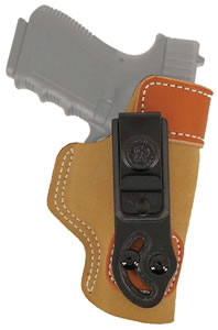 Desantis 106NA14Z0, Inside-The-Pants Holster, Brown Suede
