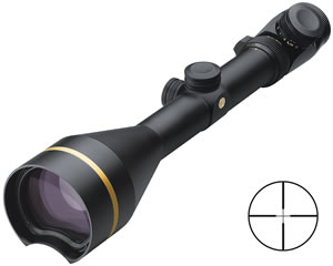 Leupold VX-3L Rifle Scope 67895, 4.5-14x, 56mm Obj, 30mm Tube Dia, Mt Black, Illum Duplex Reticle, w/$50 Coupon For Future Order
